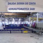 Sierra de cinta SABI semiautomatica mod. PRB-500/1000