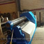 Asymetric plate roll Vulcano of 3050 x 15/20