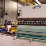 Hydraulic pressbrake MEBUSA of 4000 x 200 Tn