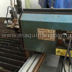 Maquina portatil de corte CNC Steeltailor  de longitud de trabajo 4000 y anchura de trabajo 1500