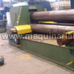 Plate roll  SERTOM Mod. EMO 3030 variable geometry of 3050 x 40/30
