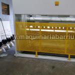 Pareja de maquinas DURMA formada por Plegadora HAP 40200 de 4000 x 200 Tn y Cizalla DHGM 4013 de 4050 x 13