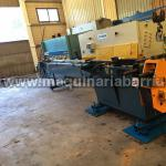 Hydraulic bending machine TEJERO Mod. 80 AHC with mandrel of 6000