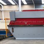 Pajera de Plegadora CASANOVA de 6100x 400 Tn + Cizalla CASANOVA de 6050x10