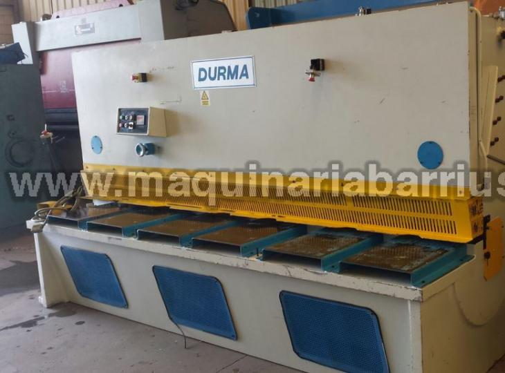 Shear DURMA DHGM 3016 of 3000 x 16