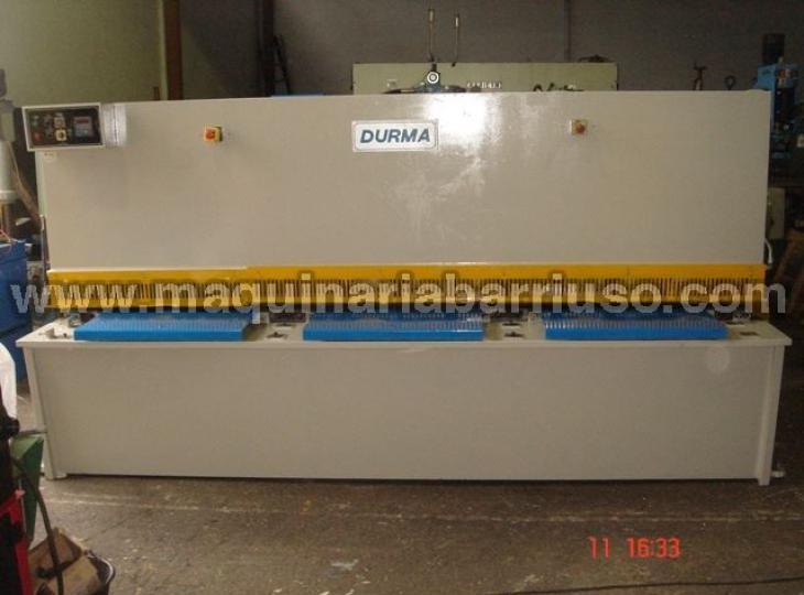 Cizalla DURMA DHGM3006 de 3000 x 6 mm.