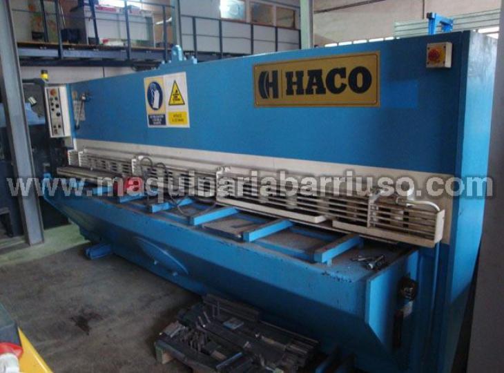 Cizalla HACO de 3000 x 6 mm.