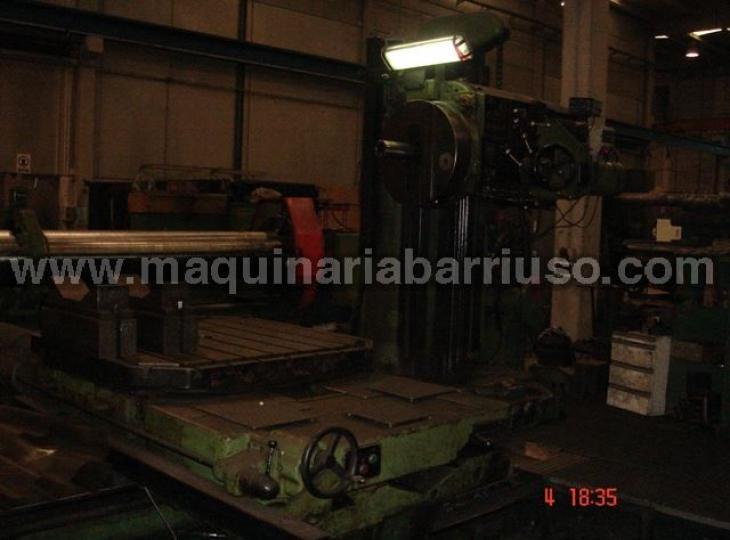 Mandrinadora PEGARD barron 110, mesa motorizada 2500x1500x1300
