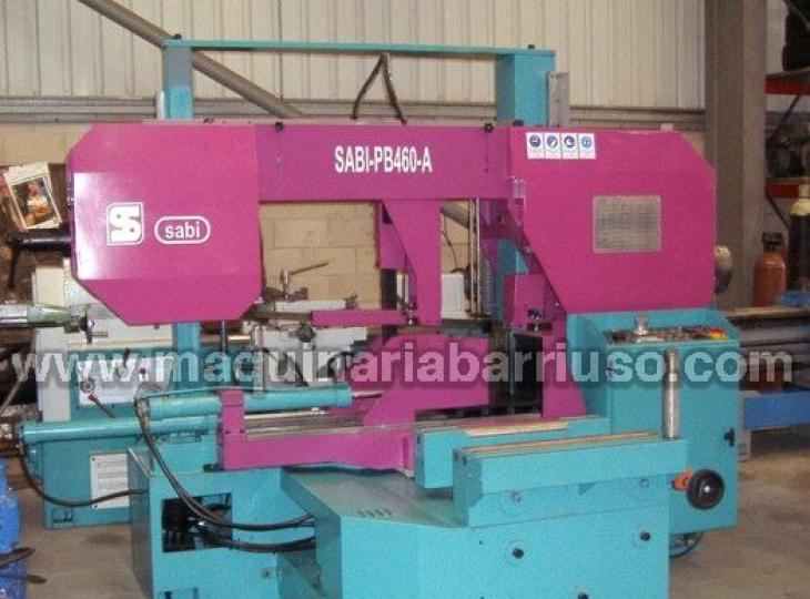 Sierra de cinta SABI automatica modelo PB460-A. Diametro 460