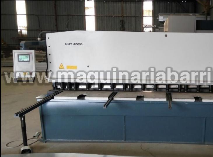 Cizalla DURMA Mod. SBT 4006 de 4050 x 6 mm