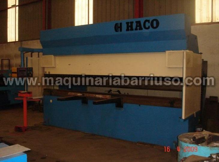 Plegadora Hidraulica HACO de 4300 x 200 Tn.