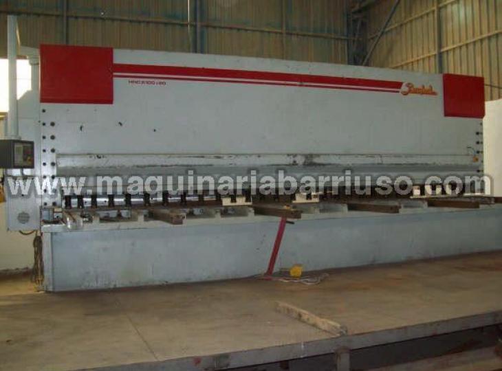 Cizalla hidraulica BAIKAL de 6000 x 10 mm.