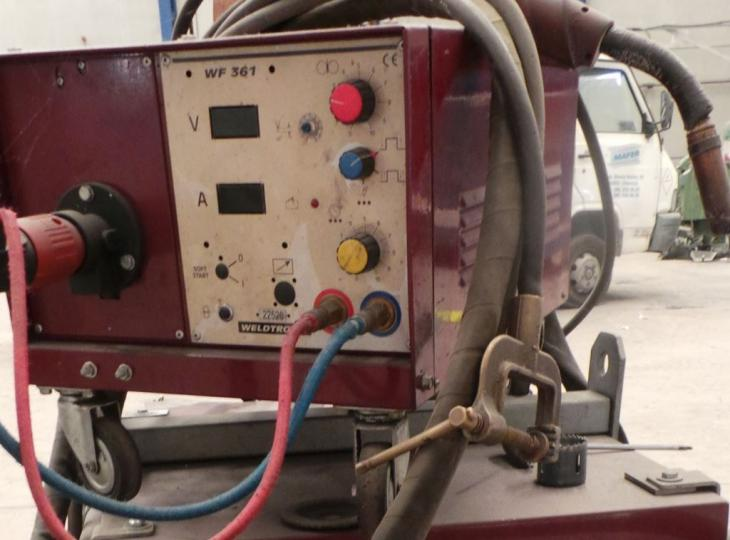 Welding machine WELTRONIC  mod. 410 N