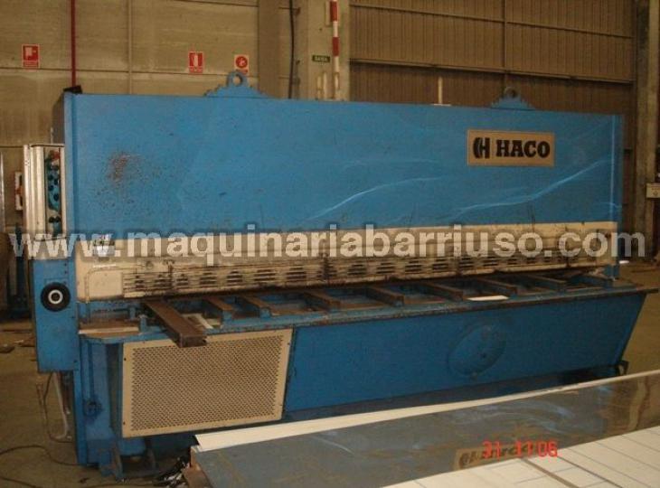 Cizalla hidraulica HACO de 3000x12 mm