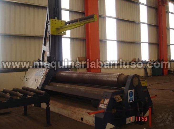 Cilindro FACCIN hidraulico de 3050 x 20/25 de 4 rodillos tronco de conos..
