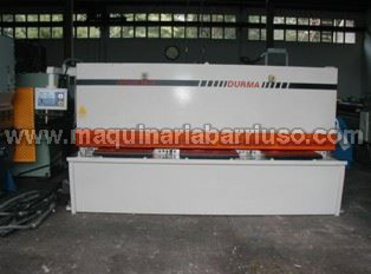 Cizalla Durma DHGM 4006 + Plegadora Durma CNC HAP 40160.