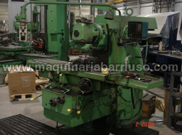 Fresadora Universal LAGUN VD-50 de 1300 x 300 mm.