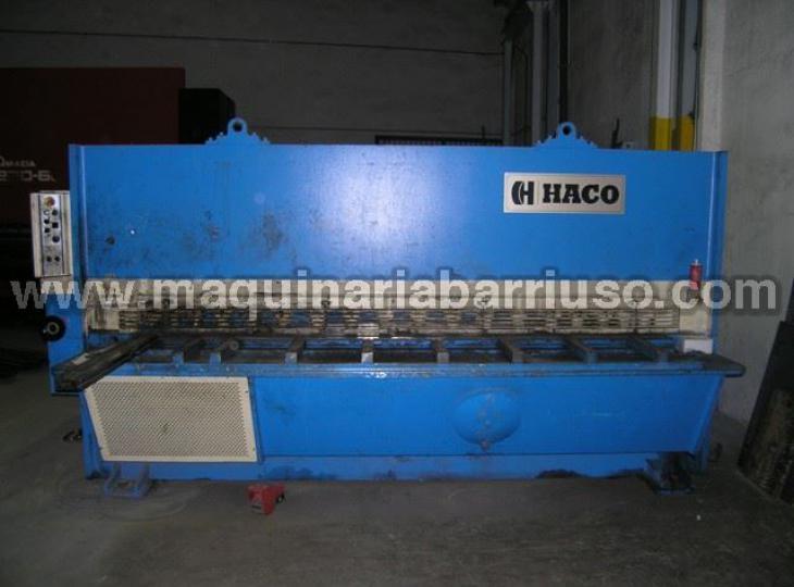 Cizalla HACO de 3000 x 12 mm.