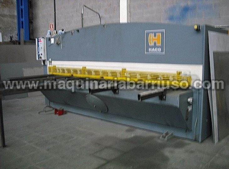 Cizalla hidraulica HACO  de 3000 x 6 mm. Marcado CE