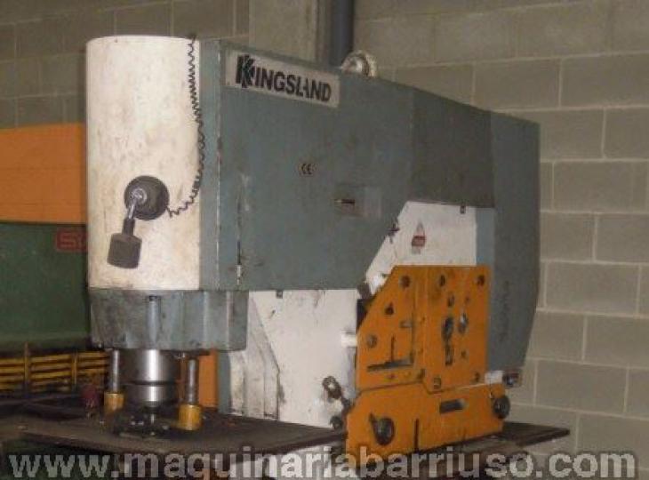 Punzonadora Kingsland hidraulica modelo 115 XS