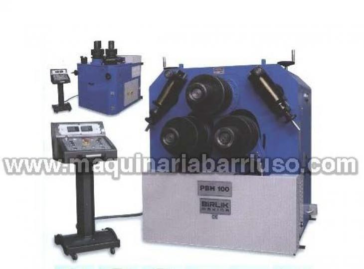 Curvadora de perfiles hidraúlica PBH-100