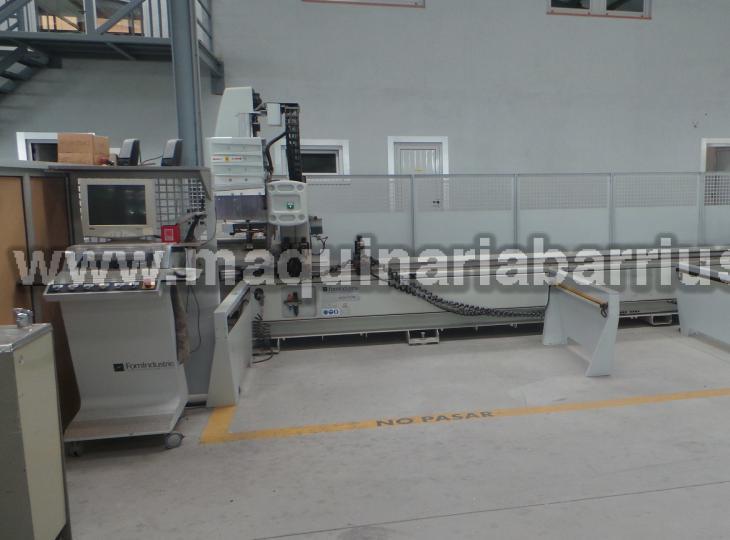 Centro de mecanizado FOM Mod. ARGO 70 RM para aluminio y pvc