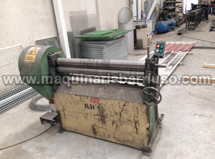 Motorysed plateroll bending machine of 1050 x 3