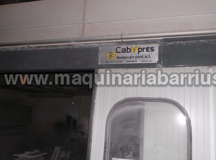 Cabina de pintura de filtro seco CABYPRESS