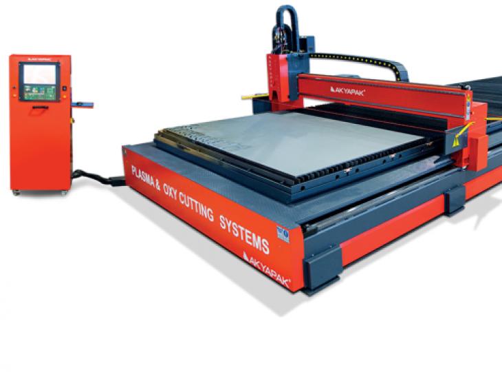 Máquina de corte por plasma AKYAPAK Mod.  APM XPR3000 3000x12000 mm