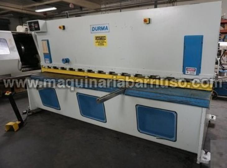 Cizalla  DURMA DHGM 3006 de 3050 x 6 mm