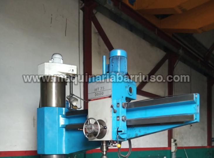 Taladro radial FORADIA Mod. MT75-2000