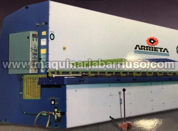 Cizalla hidraulica Arrieta de 3100x 10/14