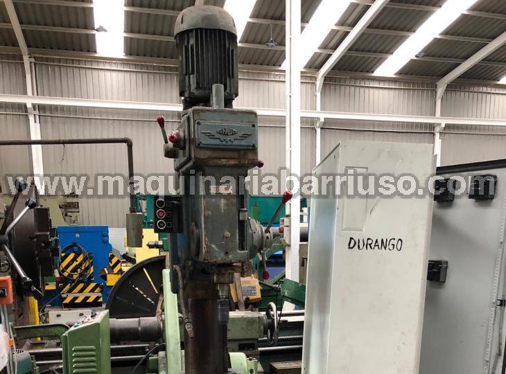 Taladro de engranajes automático  con embrague electromagnetico ANJO . Broca de 40 con mesa de  570 x 720