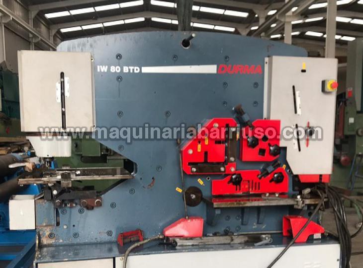 Punzonadora DURMA Mod. IW 80/150 BTD